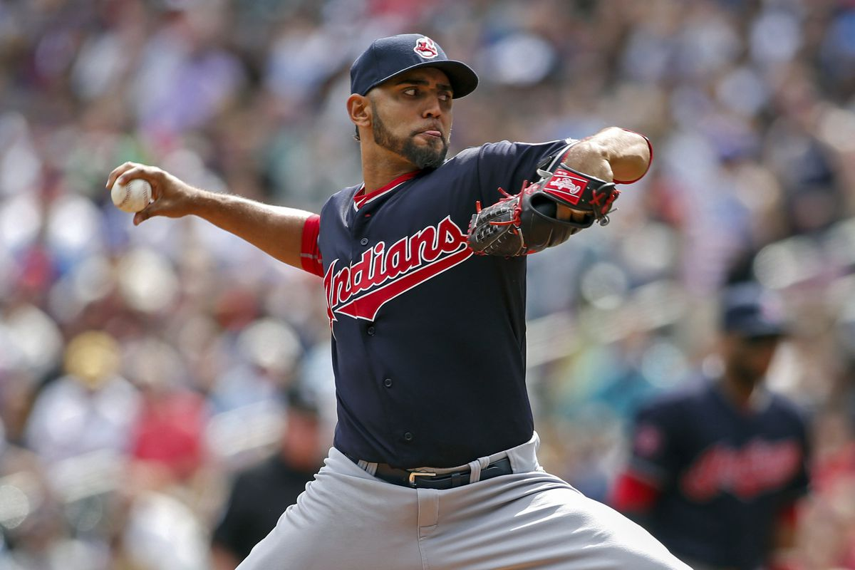 Danny Salazar pitched very well yesterday.