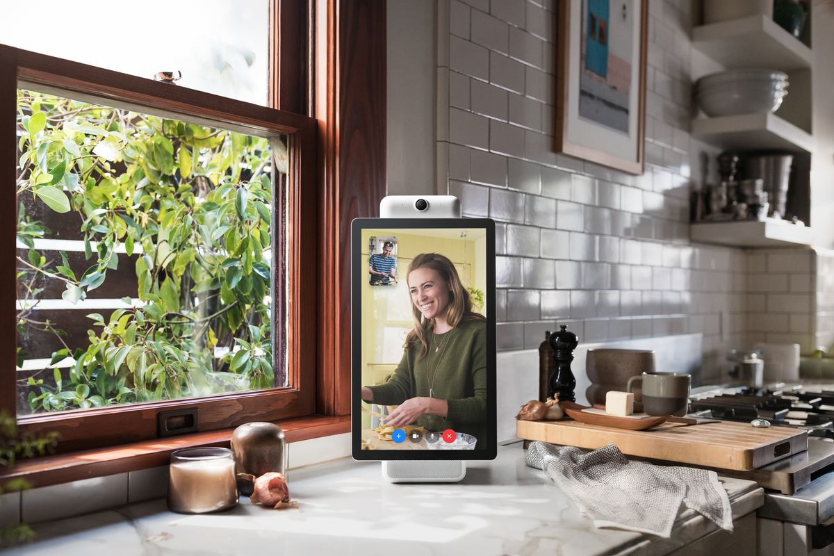 Facebook's new Portal in-home video device