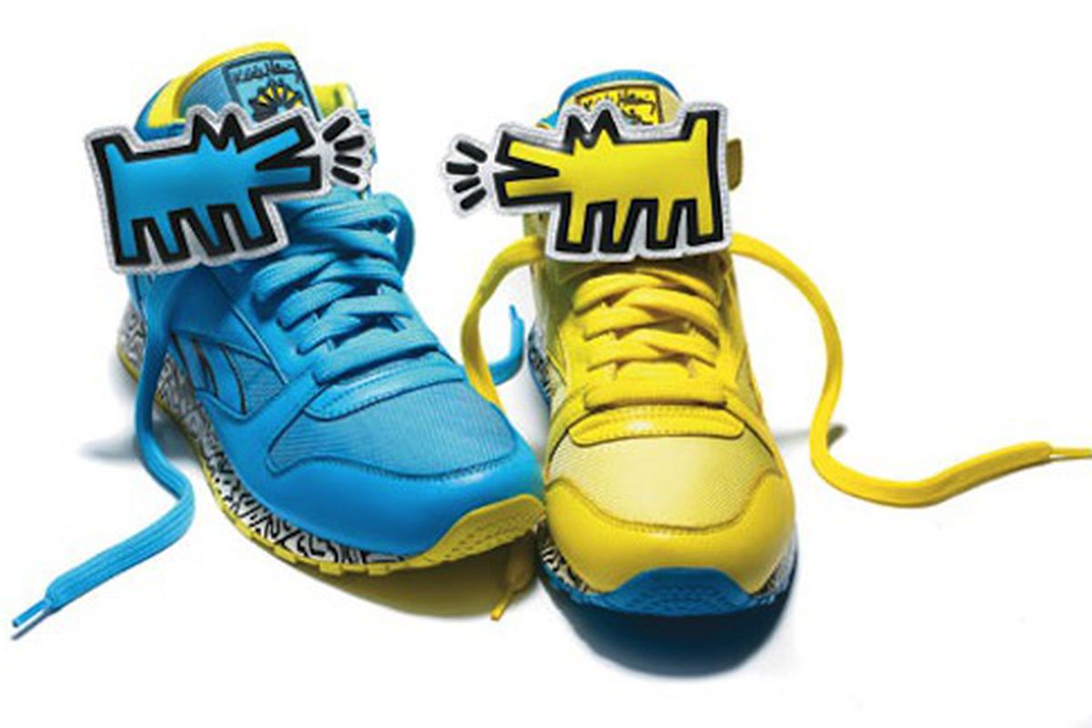 """Image via <a href=""""http://thephoenix.com/Boston/life/150917-wearing-haring-the-reebok-x-haring-collection/"""">The Phoenix</a>"""