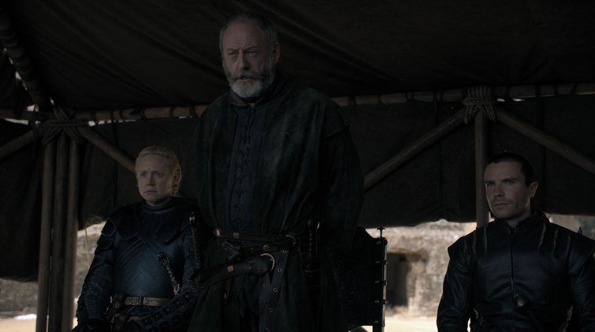 Game of Thrones S08E06 Davos at the council