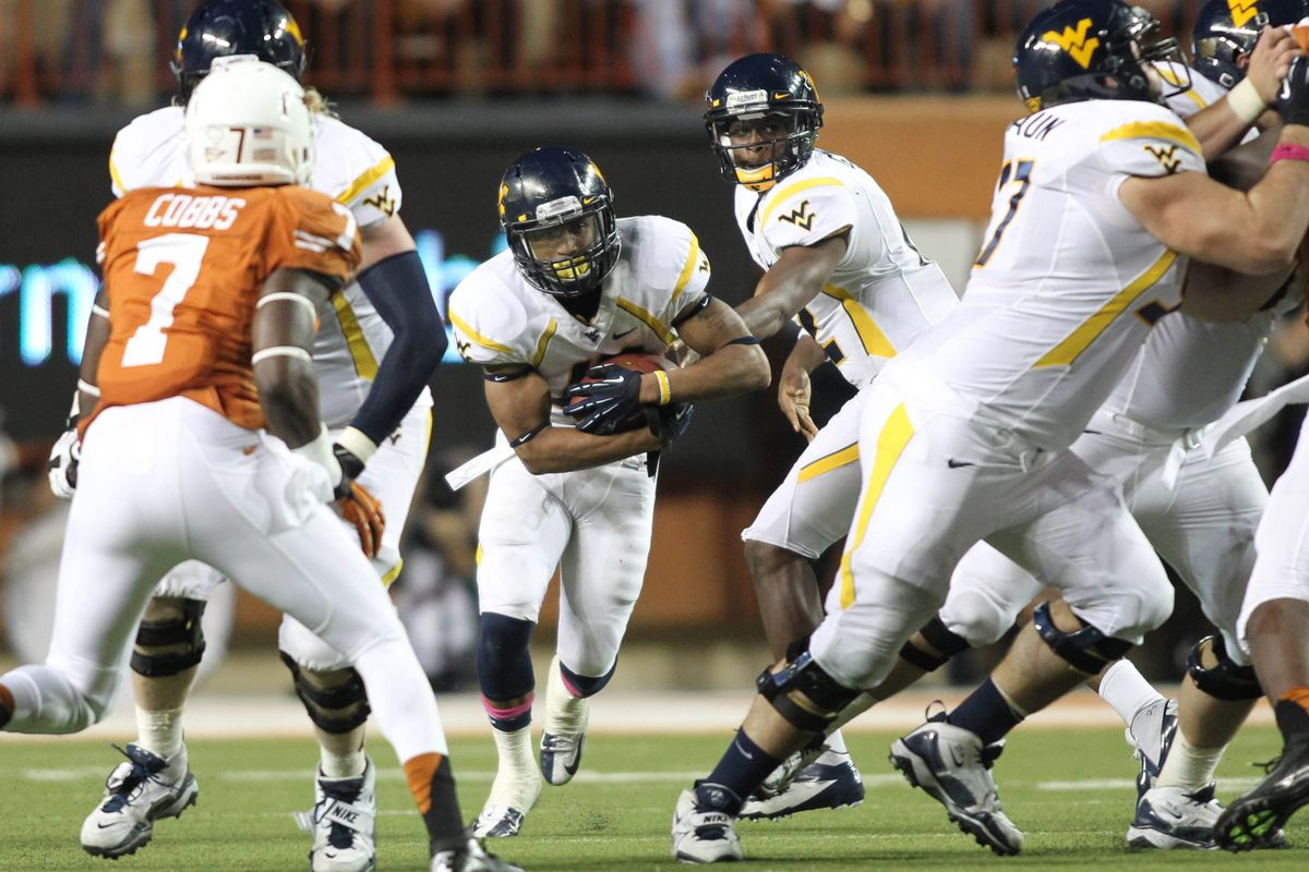 Andrew Buie ran for 207 yards against Texas