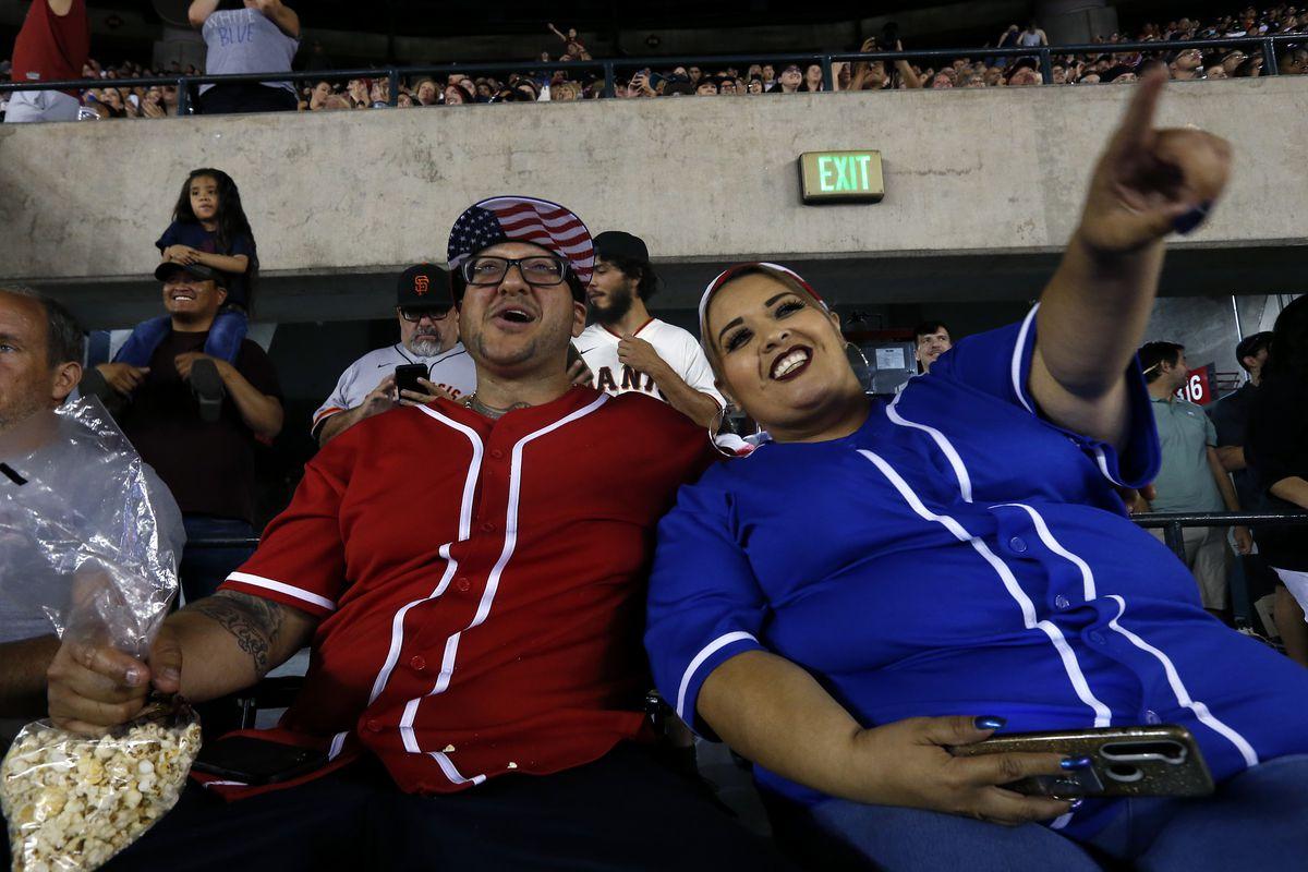 San Francisco Giants v Arizona Diamondbacks
