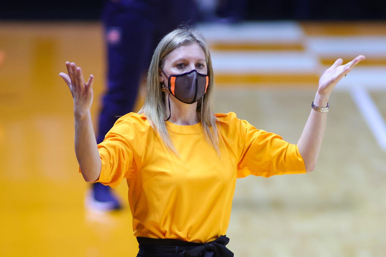NCAA Womens Basketball: Auburn at Tennessee