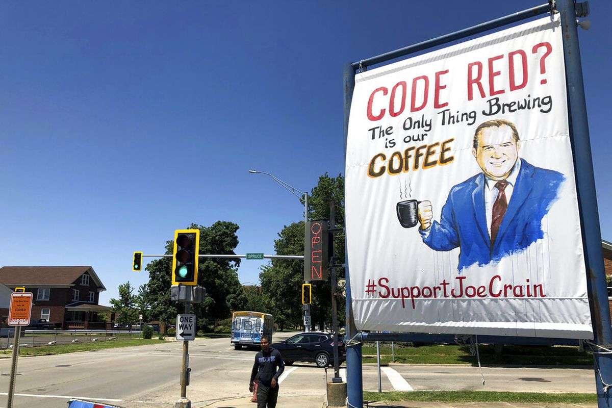 Joe Crain pulled off Springfield newscasts after 'Code Red' alert criticism