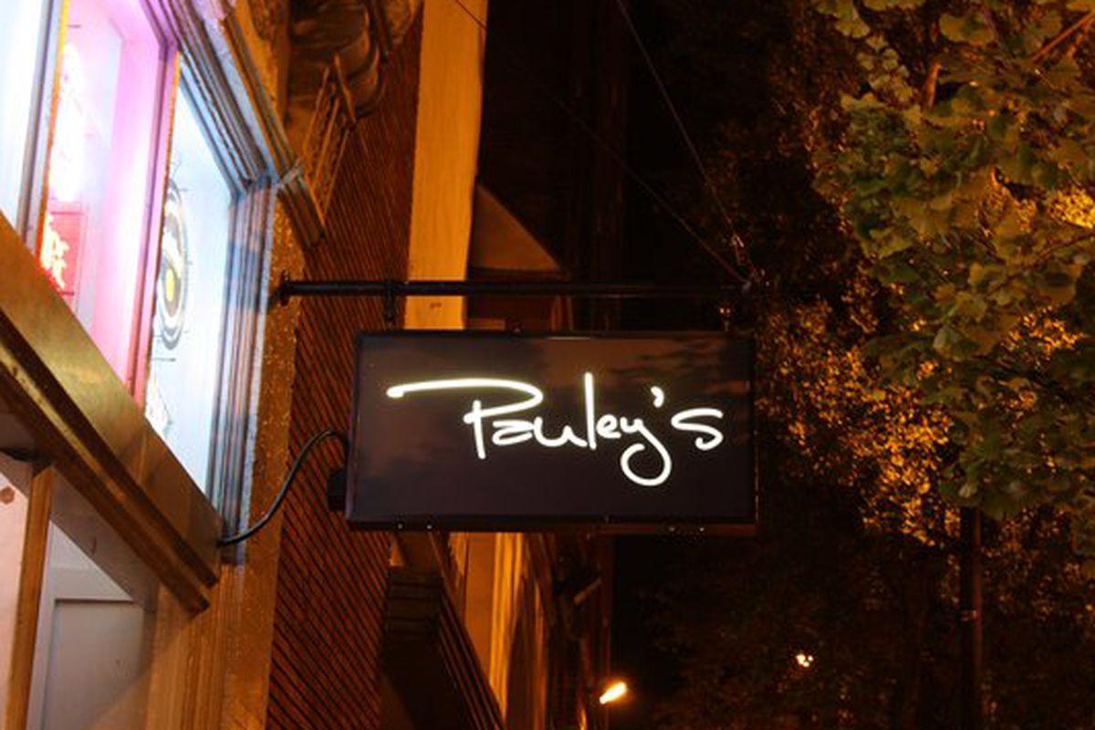 Pauley's Original Crepe Bar in Athens.