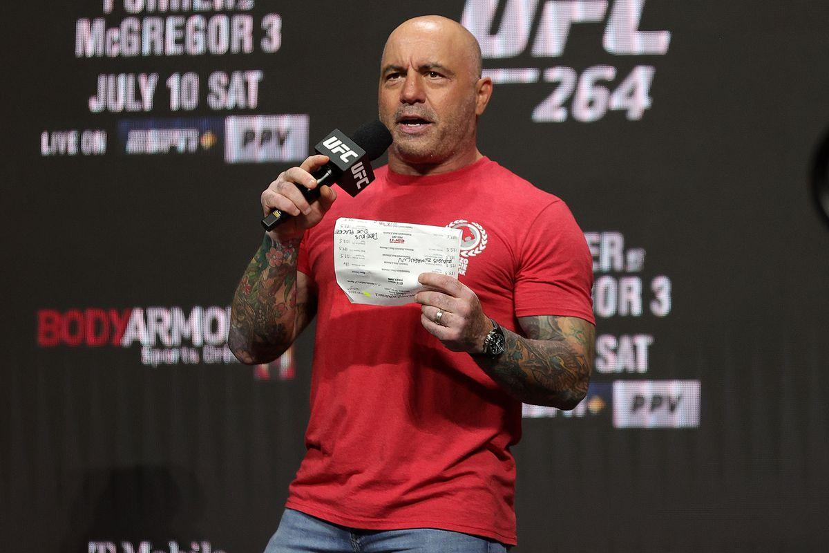 UFC 264 Weigh-in Joe Rogan