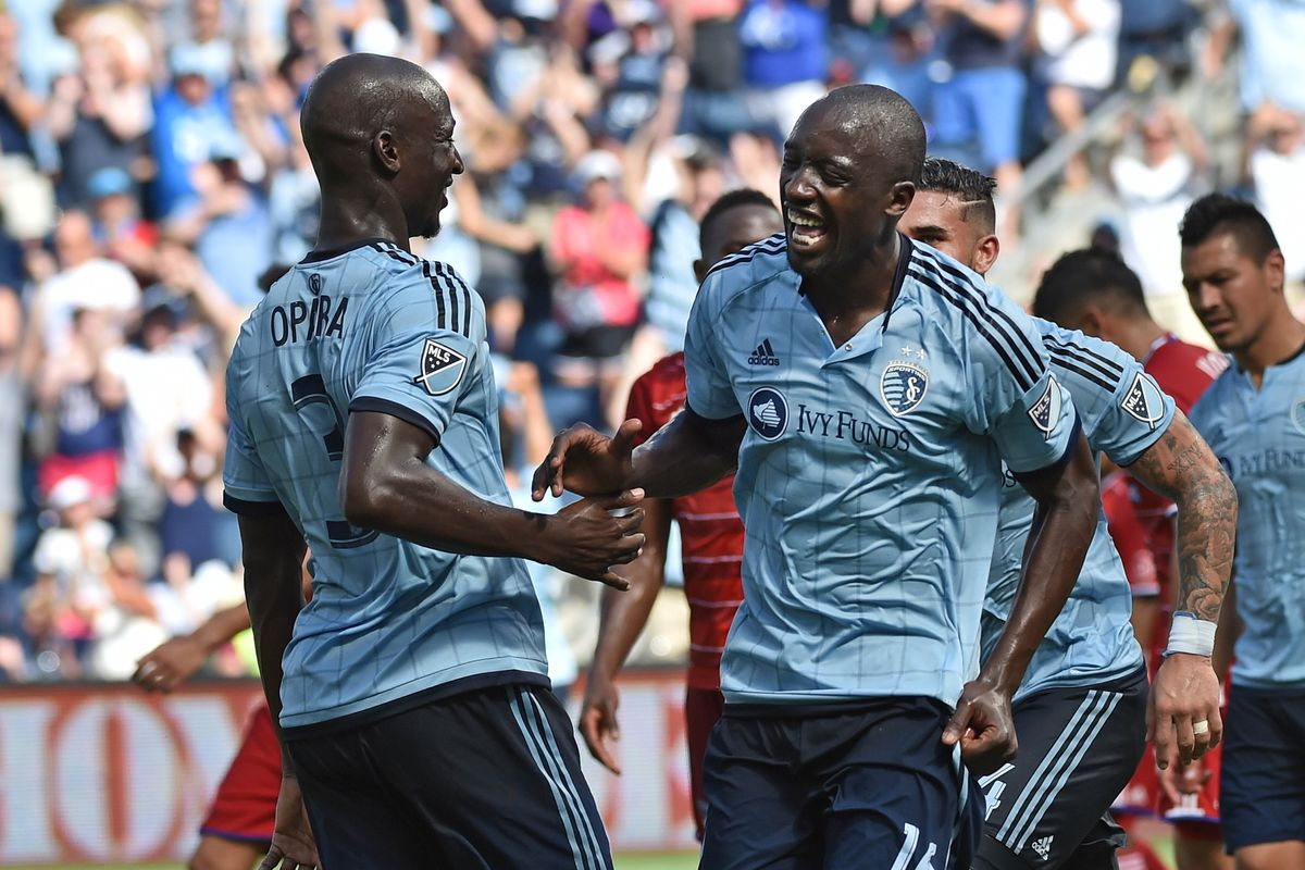 Sporting Kansas City came out firing after the Copa break.