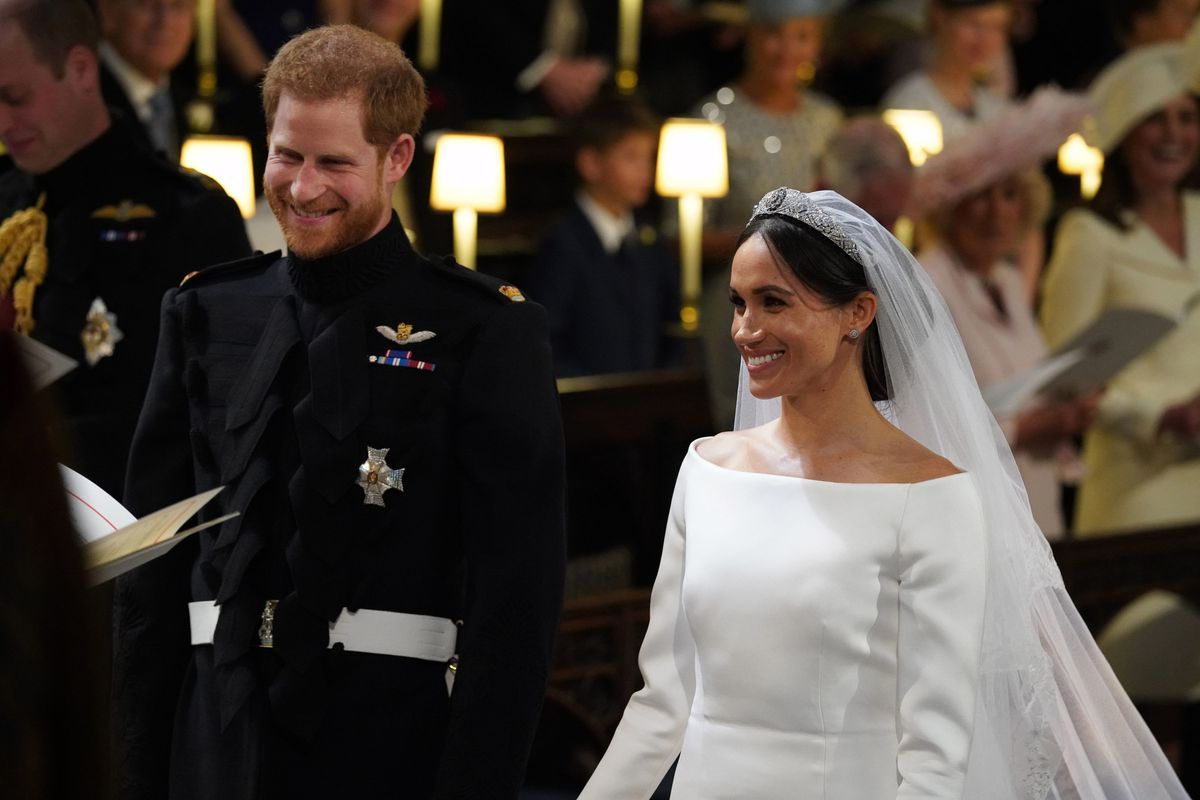 Meghan Markle Wore A Messy Bun At The Royal Wedding Racked