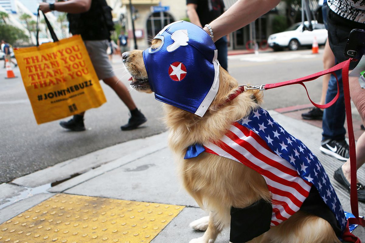 Comic-Con Fans Descend On San Diego Dressed As Their Favorite Characters