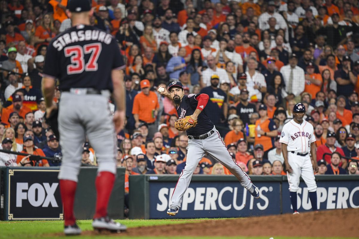 World Series Game 2- Washington Nationals at Houston Astros