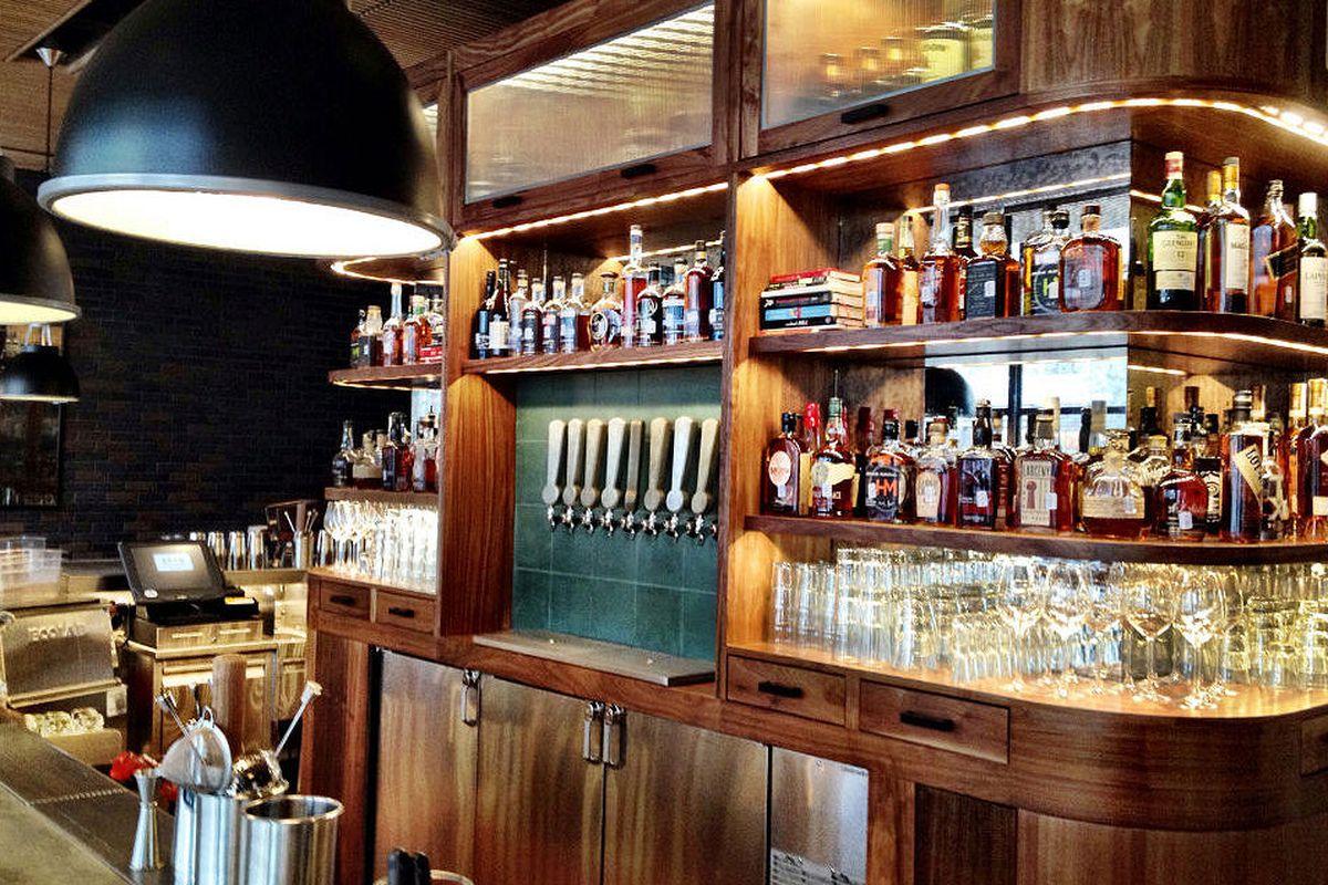 The bar at AF+B.