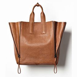 """<strong>3.1 Phillip Lim</strong> Pashli Tote, <a href=""""http://www.azaleasf.com/#view=details&item=AP13-0110SKC_RUST&search=*category/bags-and-wallets/*gender/women*&currIndex=0&pageSize=60&currSort=score&sortDirection=desc"""">$895</a> at Azalea"""