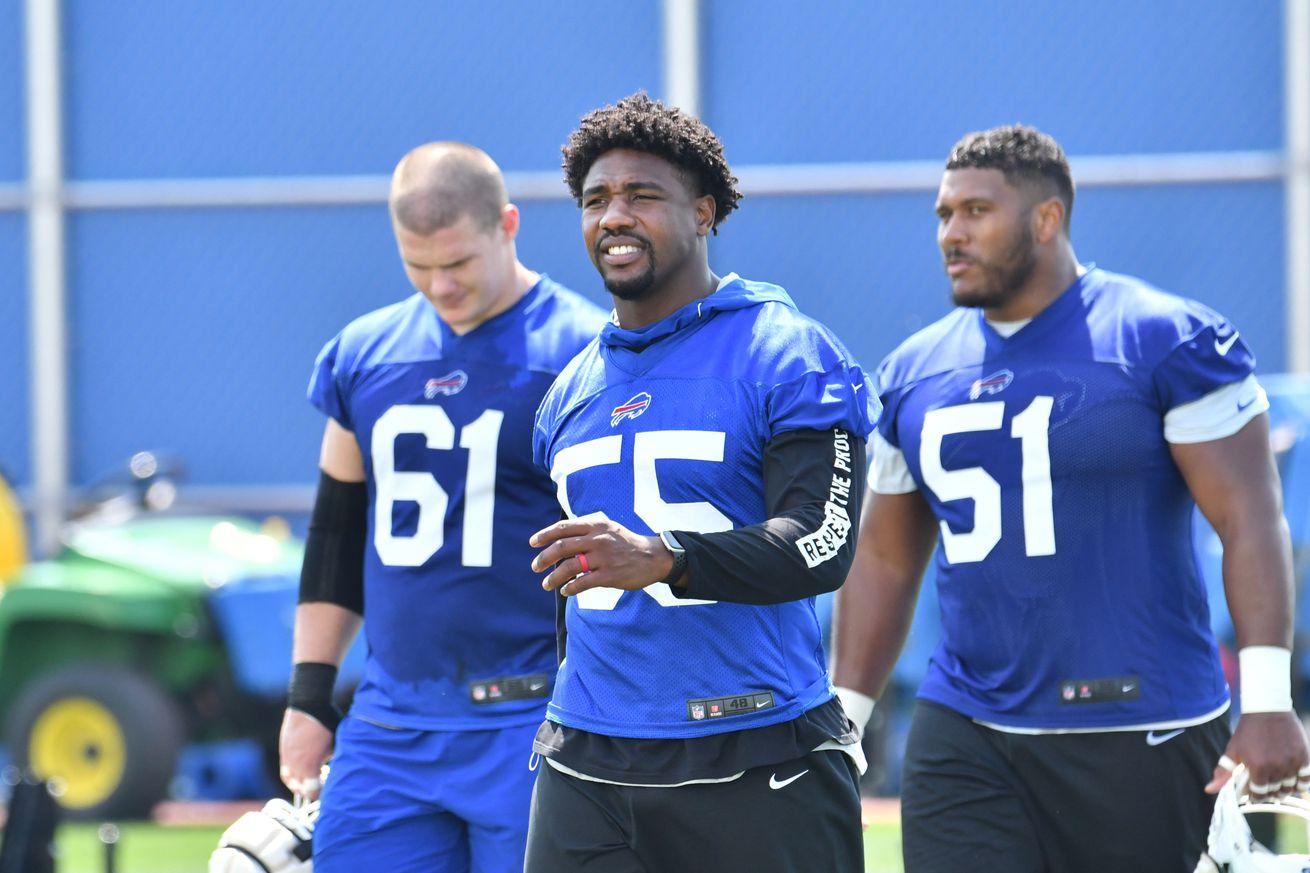 NFL: Buffalo Bills Training Camp