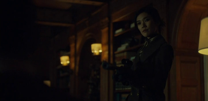 Chiyoh and her trusty sniper rifle on Hannibal.