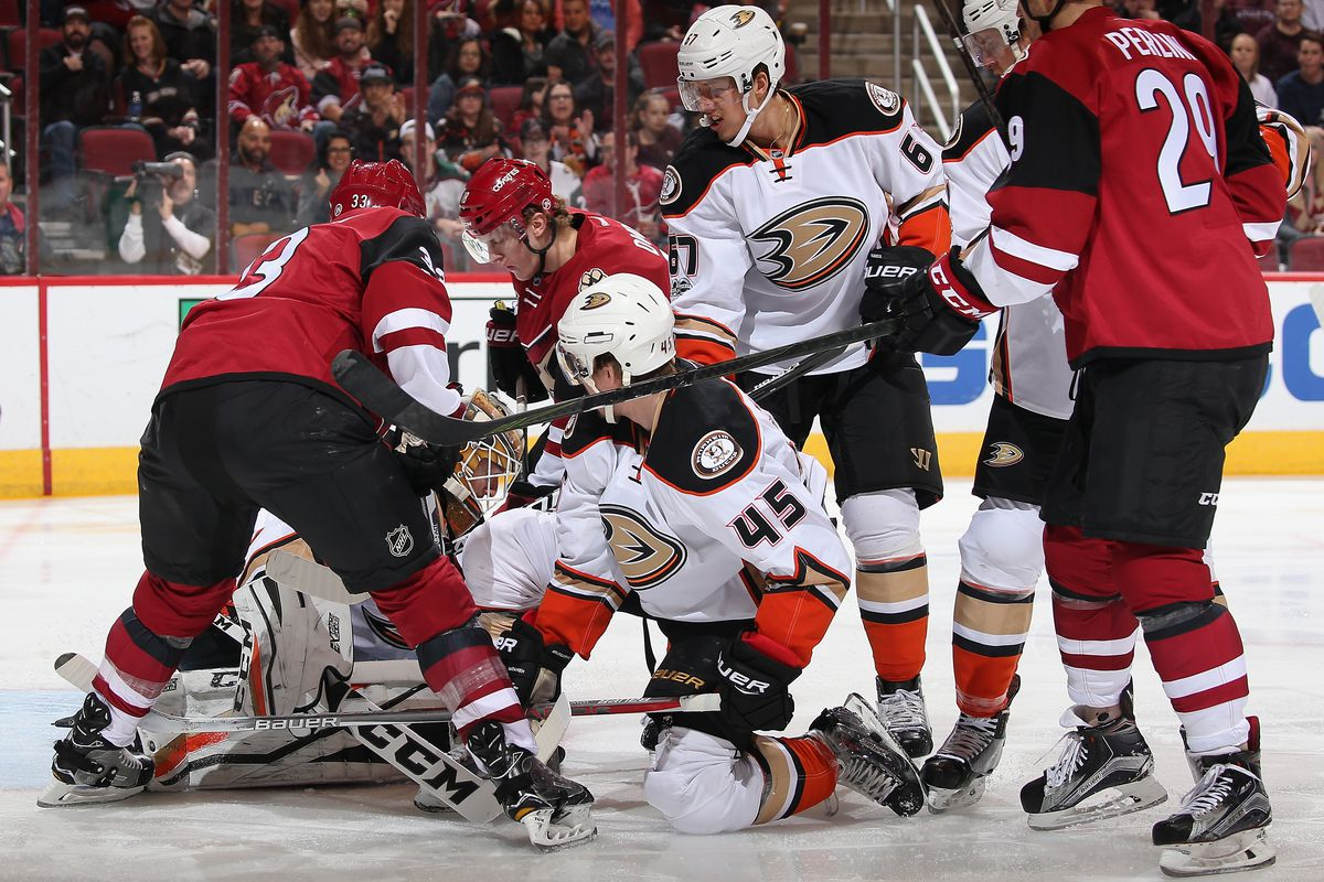 The Ducks have a chance to lead the Presidents Trophy race