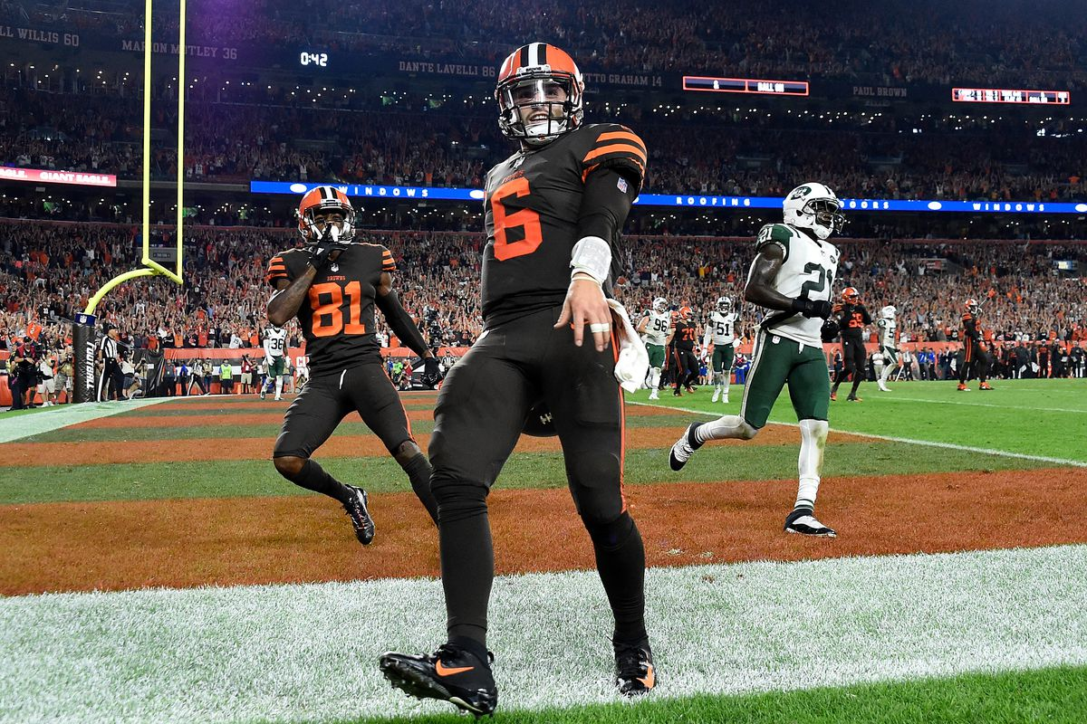 How The Browns Beat The Jets To Get Their First Win Since