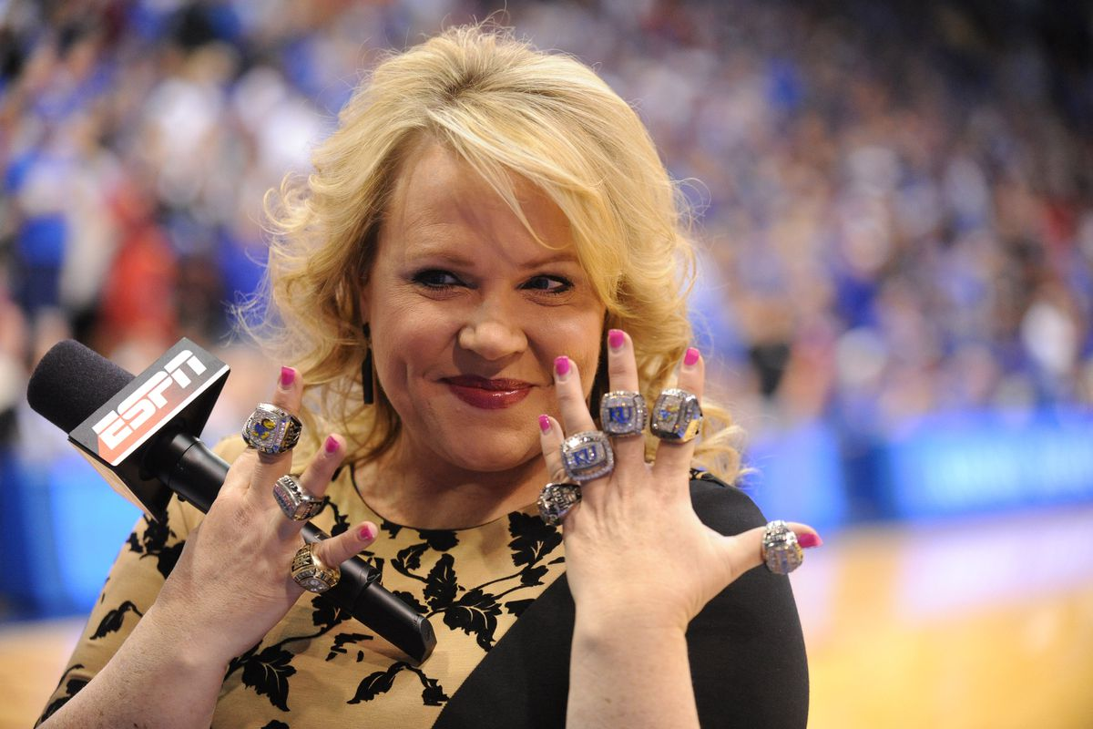 Holly Rowe belongs to all of Kansas, not just Lawrence.