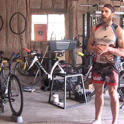 James Lawrence of Lindon is preparing to run 50 full Ironman  courses in 50 consecutive days in all 50 states — more than 7,000 miles of biking, running and swimming.
