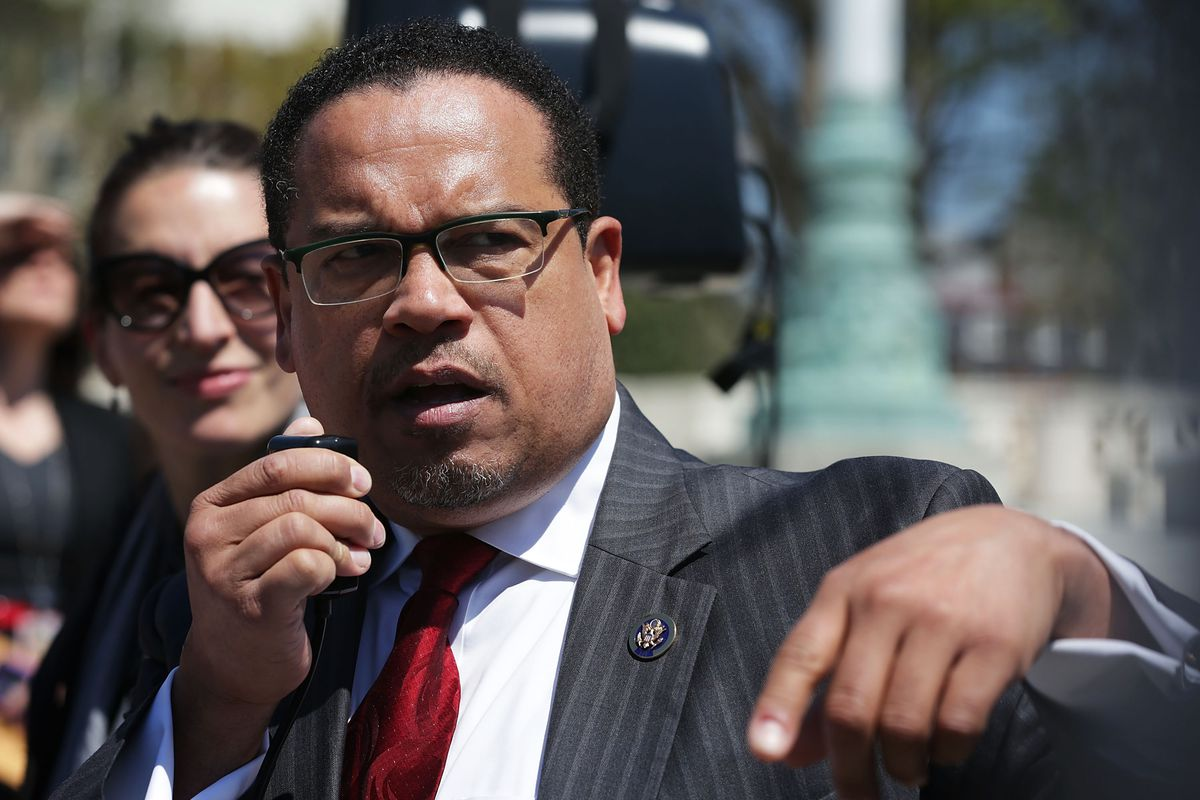 Keith Ellison, the first Muslim elected to Congress, is running for DNC chair.