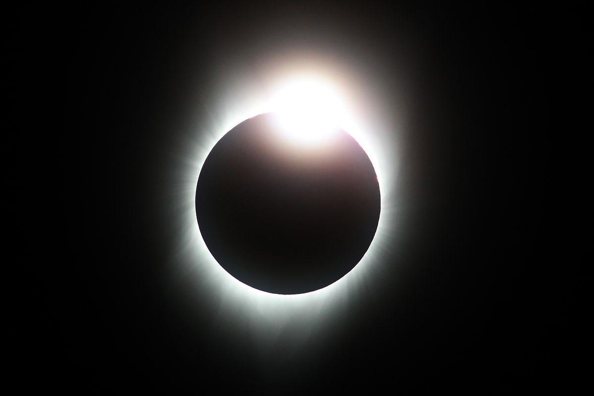 Solar Eclipse Visible Across Swath Of U.S.