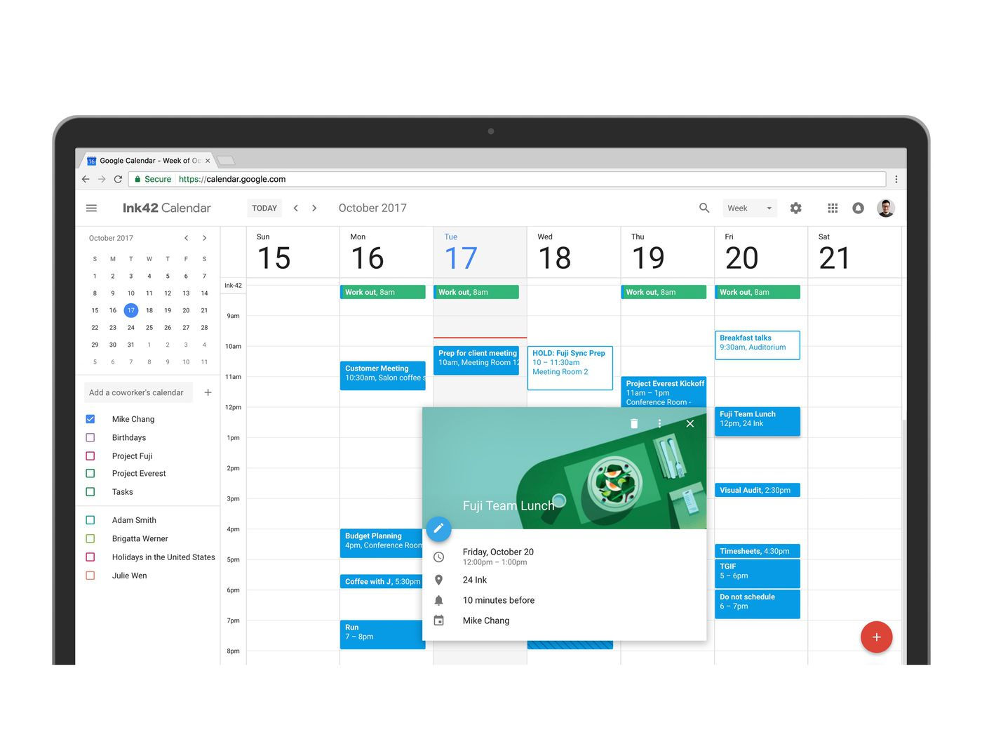 Event Calendar Js : The redesigned google calendar for web is infinitely prettier the