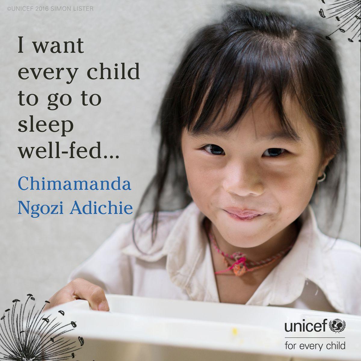 Chimamanda Adichie's tiny story