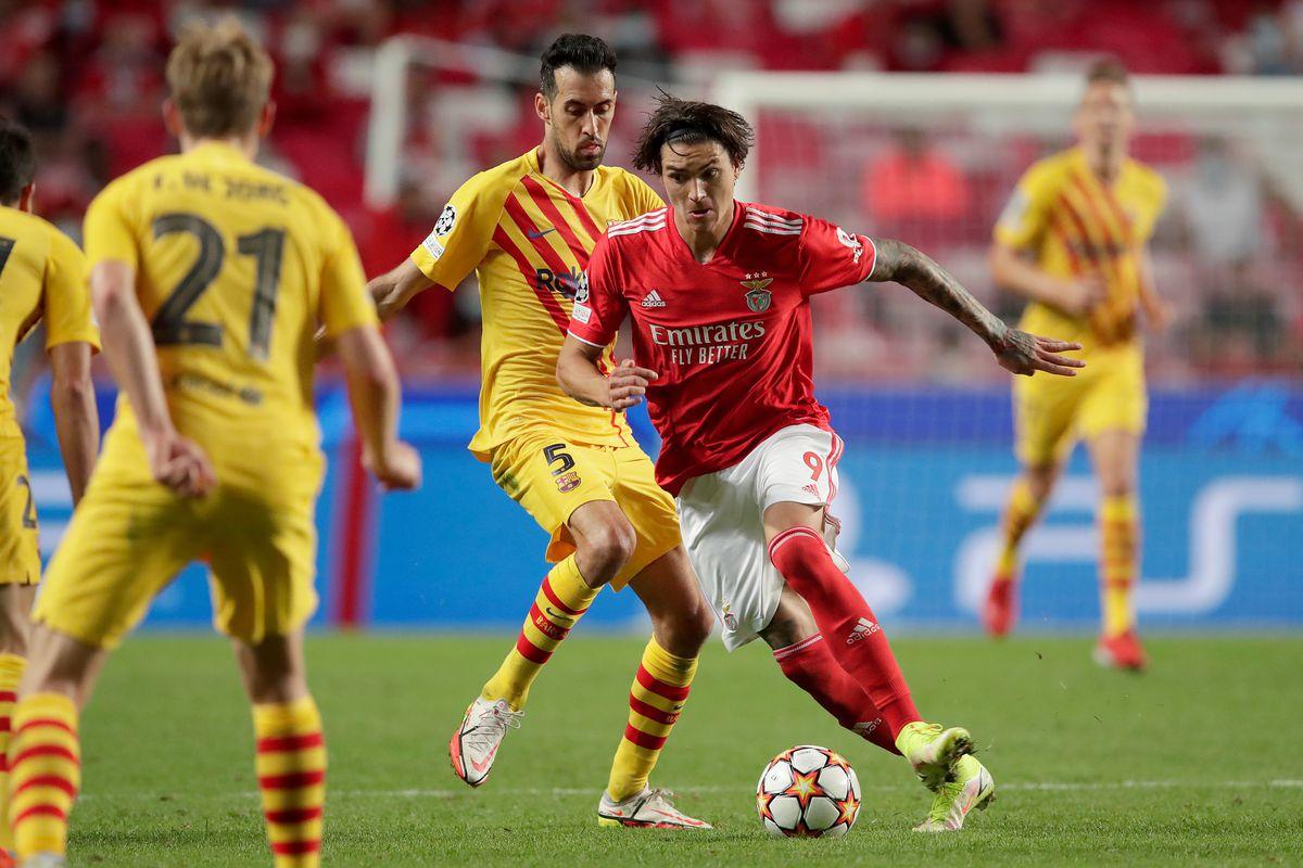 Benfica v FC Barcelona - UEFA Champions League