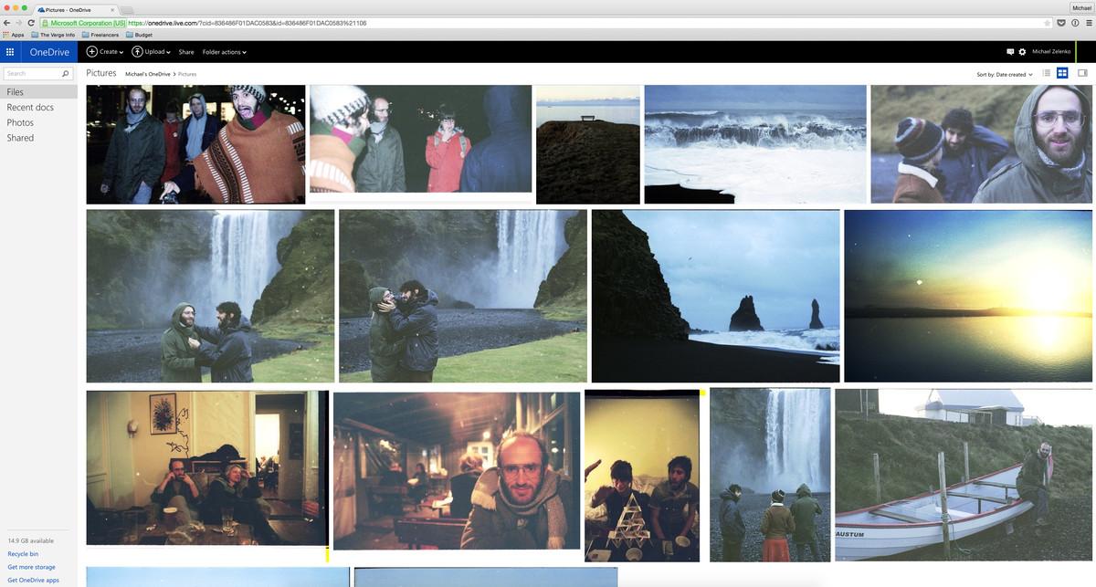 Microsoft OneDrive Pic