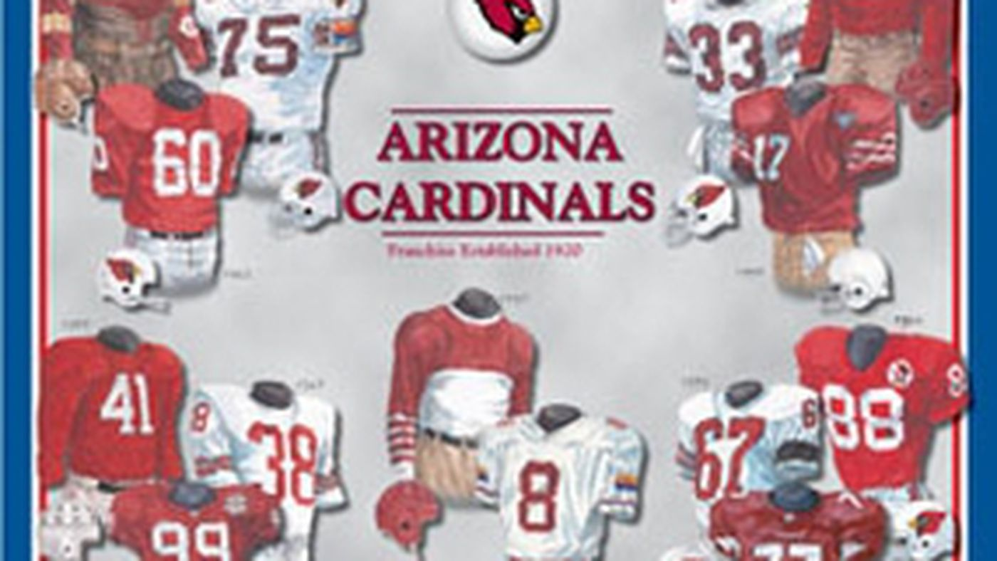 release date 09daf 93585 2015 NFL Countdown: The History of Arizona Cardinals Jersey ...