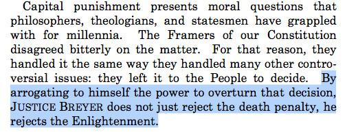 Scalia enlightenment