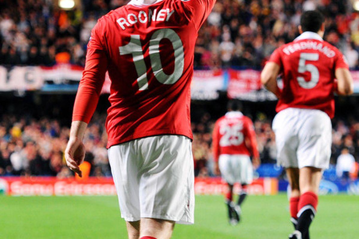 Wayne Rooney is Manchester United's talisman