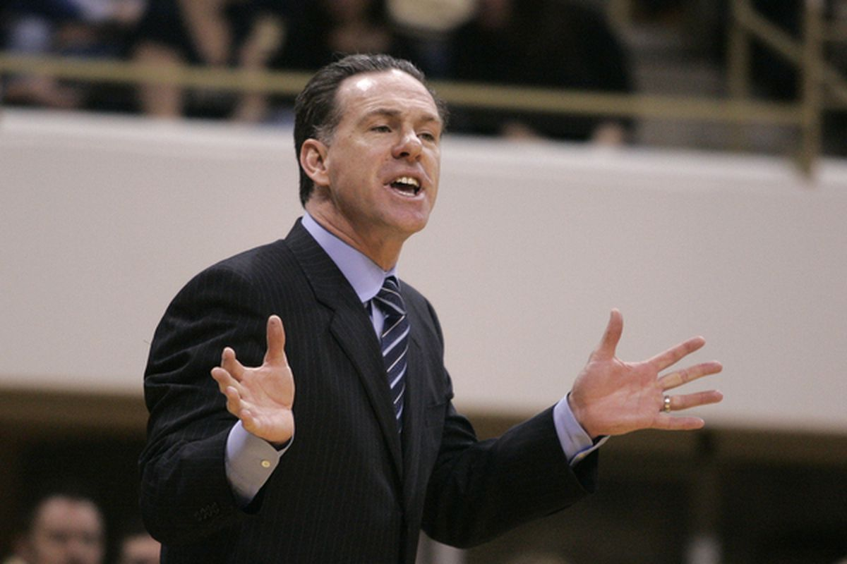 Pittsburgh Panthers head coach Jamie Dixon (Photo by Justin K. Aller/Getty Images)