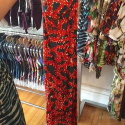 Coral ready to wear dress, $105