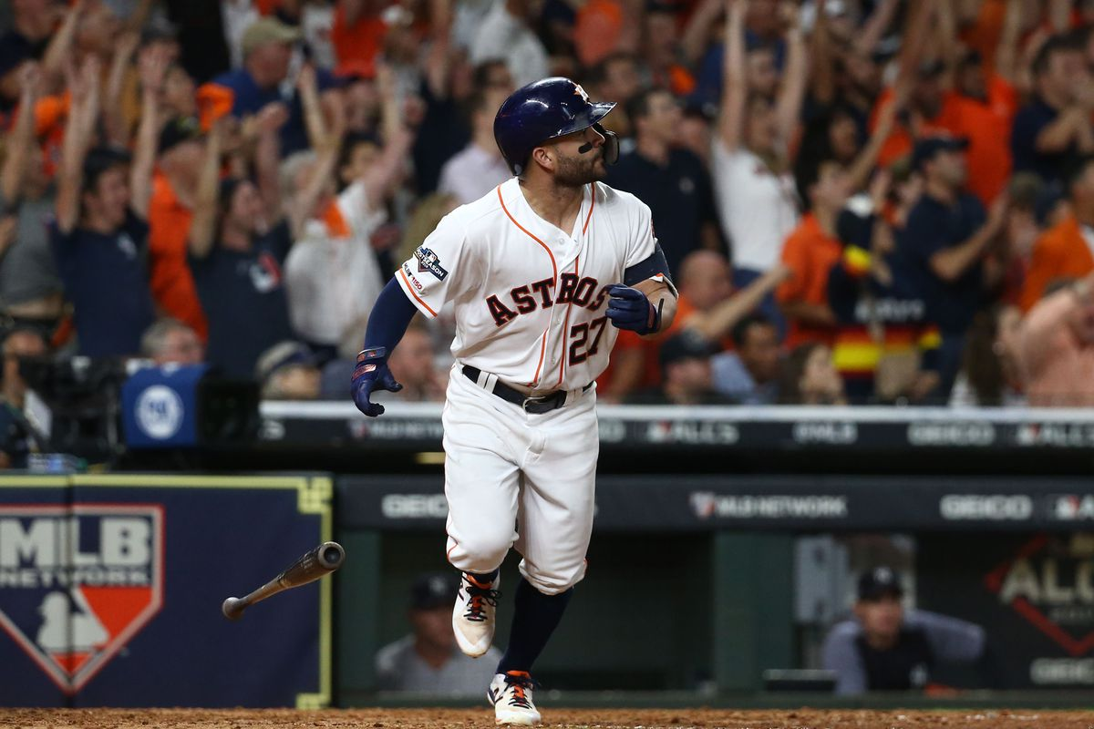 Altuve Astros >> The Astros Have Reached The World Series And Walkoff Hero