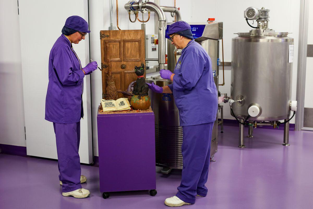 Halloween Cadbury World creation