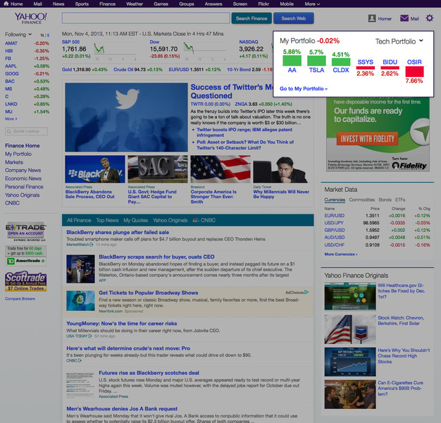 Yahoo Finance Redesign For Web And Ios  The Verge. Easy Infographic Template. Monthly Calendar Template 2018 Template. Special Needs Aide Resume Template. Lawn Mowing Business Plan Template. Shipping Invoice Template. What Are The Different Types Of Clouds Template. Introduction To Essay Examples Template. Mla Essay Format Template