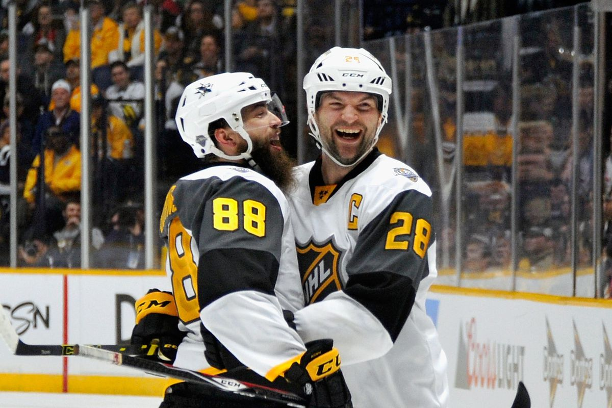 0e302e3cc7d66 2016 NHL All-Star Game Recap  John Scott Earns MVP In Heartfelt Evening