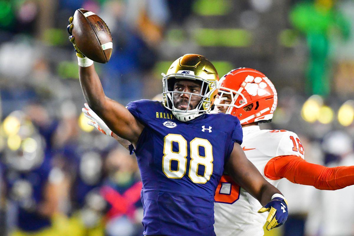NCAA Football: Clemson at Notre Dame