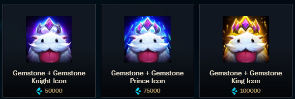The Blue Essence shop: exclusive loot and prices - The Rift