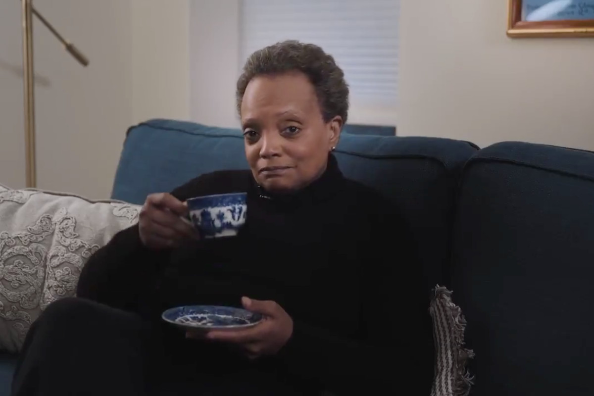 Mayor Lori Lightfoot launched a new PSA Monday encourage Chicagoans to follow just one simple rule: stay home.