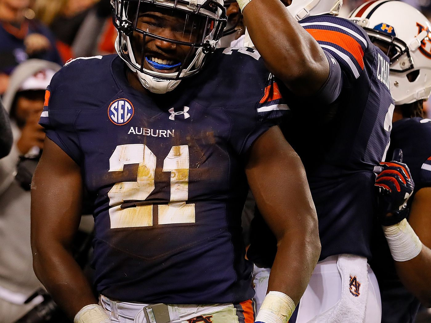 Meet Kerryon Johnson Auburns Sudden Heisman Contender Real Quickly