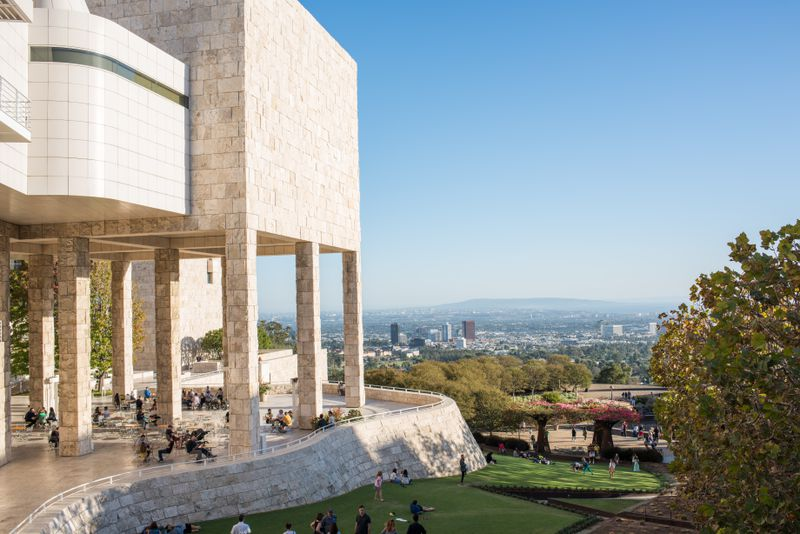 The Getty Center in Los Angeles.