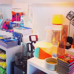 """Once we arrived in PS, we had to visit the Queen of <a href=""""http://la.racked.com/archives/2014/01/24/trina_turks_palm_springsready_wares_go_on_sale_next_week.php""""target=""""_blank"""">Palm Springs style</a> <b>Trina Turks</b>'s colorful flagship boutique (891"""