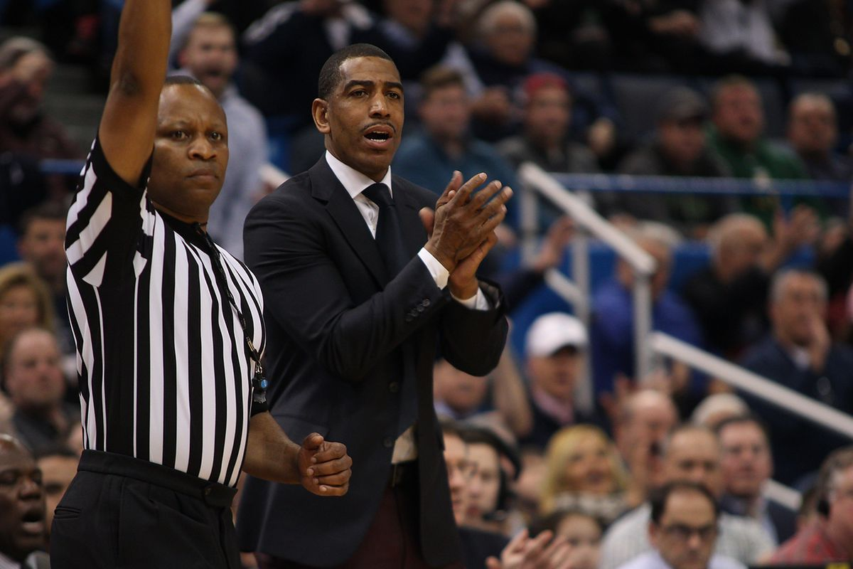 A win tonight would go a long way for Kevin Ollie's Huskies NCAA Tournament chances.