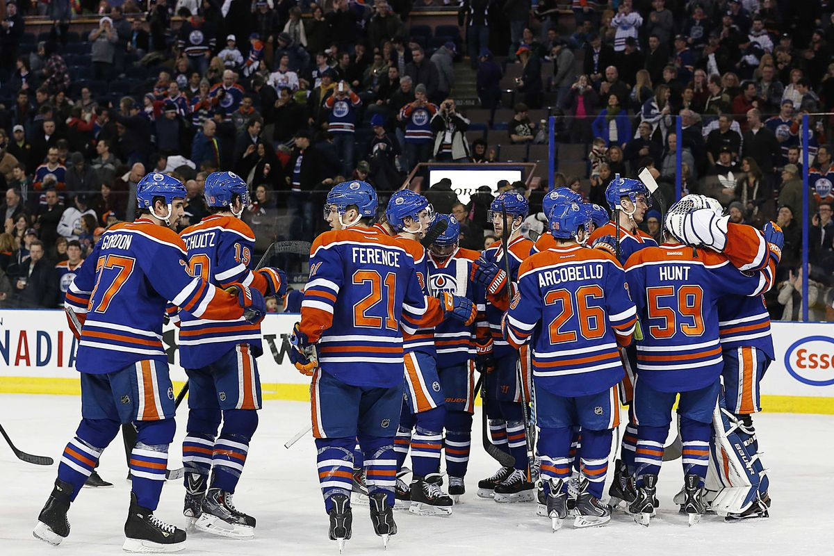 The Oilers did something that they haven't done in a while. They beat a playoff team but it wasn't pretty.