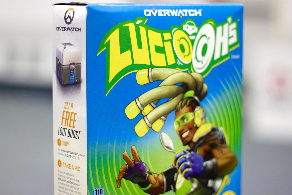 how the overwatch cereal lucio ohs loot boost works heroes never die