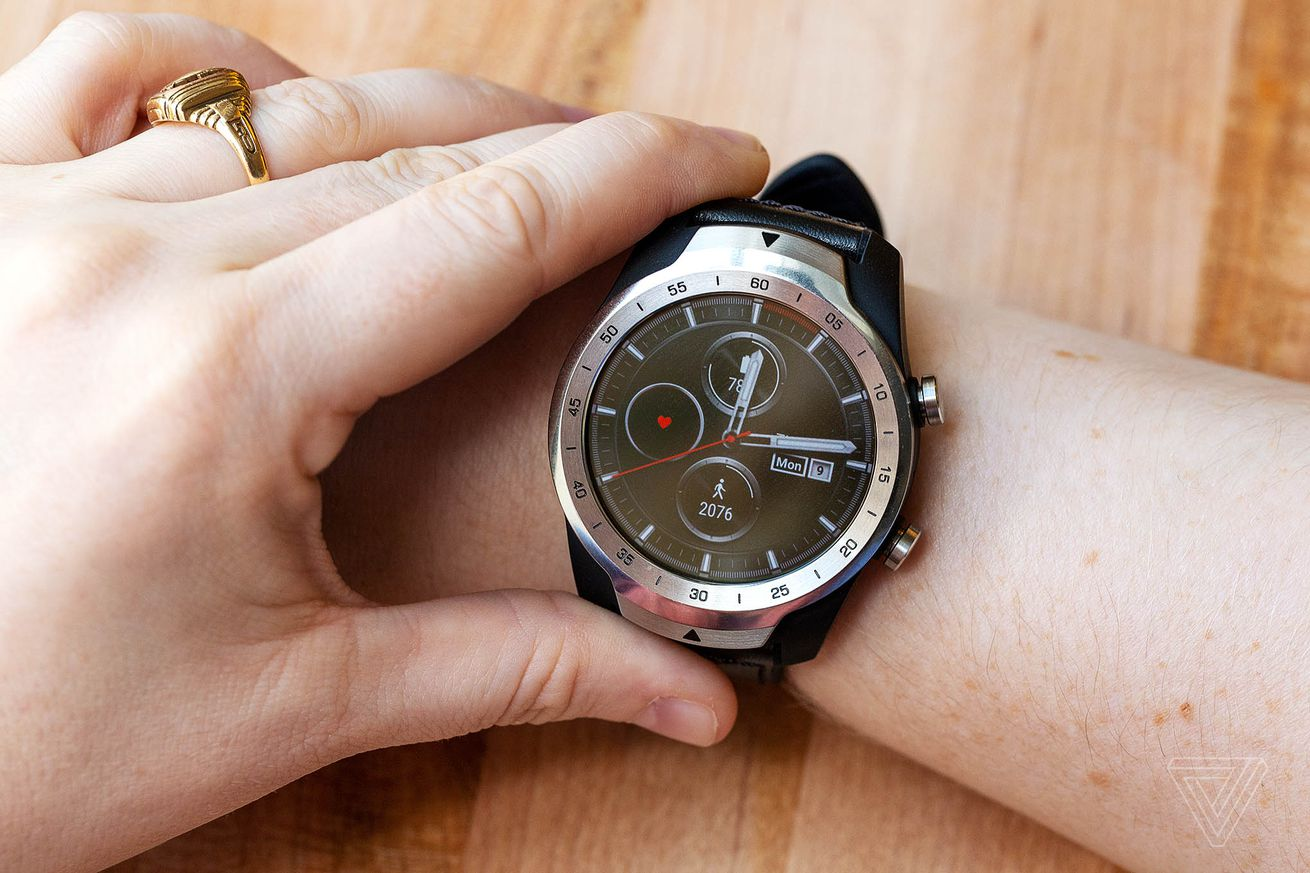 the dual screen ticwatch pro goes on sale for 250