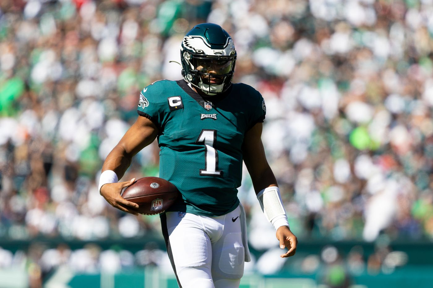 """Cowboys vs. Eagles: """"Jalen Hurts is probably only going to get the 2021  season to prove [himself]"""" - Blogging The Boys"""