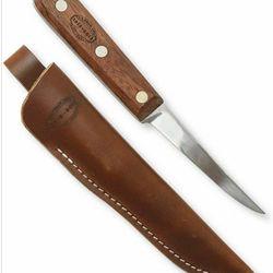 "<a href=""http://www.llbean.com/llb/shop/70739?feat=1113-GN2&attrValue_0=Rosewood&productId=1188859""> LL Bean 100th Anniversary Edition trout knife</a>, $49.99 llbean.com"