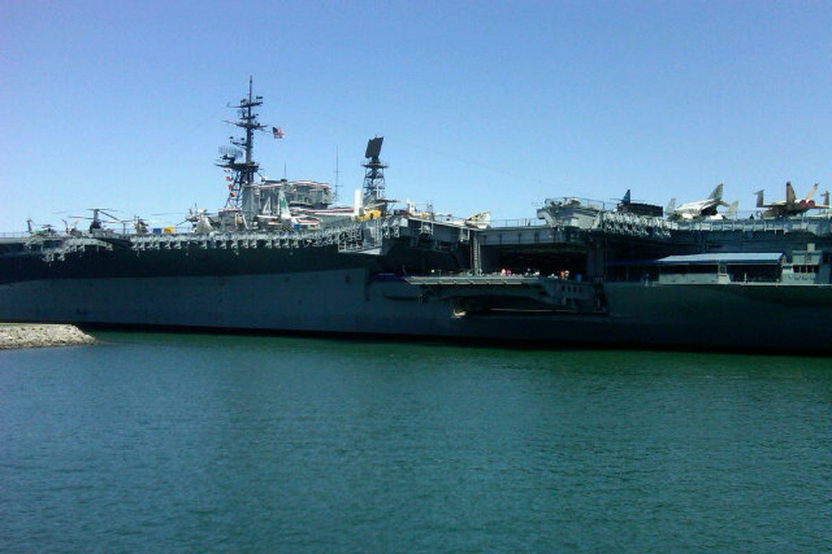 U.S.S. Midway.